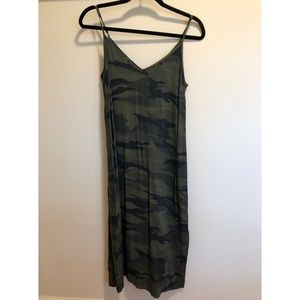 Splendid Dresses - Splendid Army slit dress